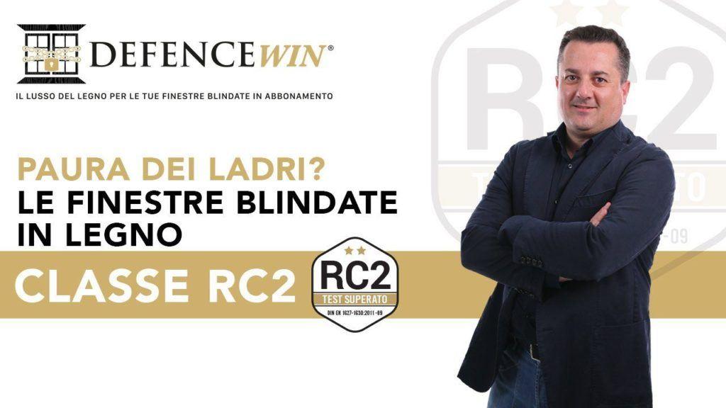 Finestre Blindate Classe RC2